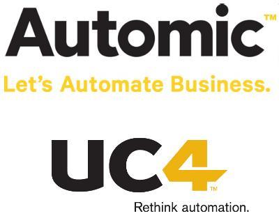 Logos von UC4 und Automic